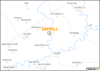 map of Darnell