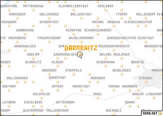 map of Darnewitz