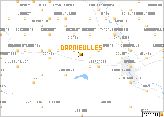 map of Darnieulles