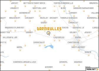 map of Darnieulles