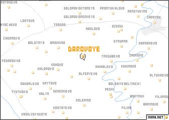 map of Darovoye