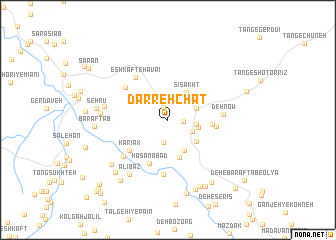 map of Darreh Chāt