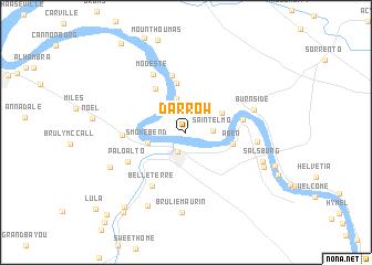 Darrow Louisiana Map.Darrow United States Usa Map Nona Net