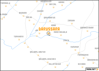 map of Dar us Sara