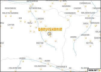 map of Darvīsh Amīr