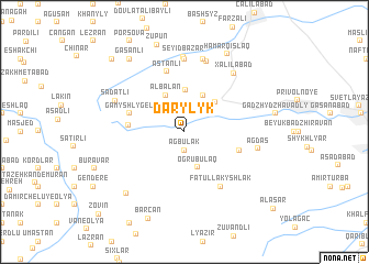 map of Darylyk