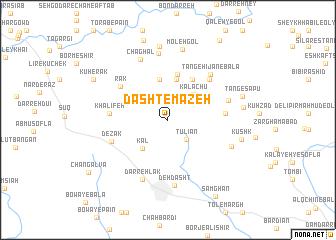 map of Dasht-e Māzeh