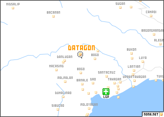 map of Datagon