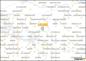map of Daube