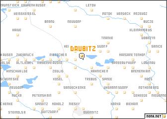 map of Daubitz