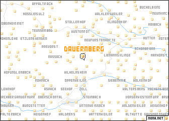 map of Dauernberg