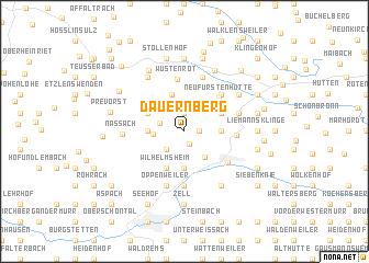 map of Dauernberg