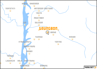 map of Daungbon