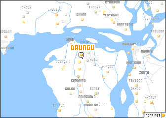 map of Daung-u