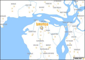 map of Daung-u