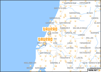 map of Daurao