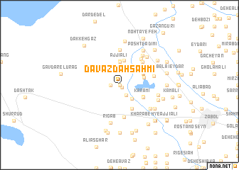 map of Davāzdah Sahmī