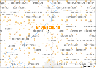 map of Davidschlag