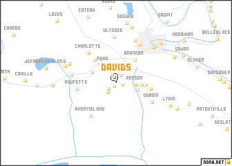 map of Davids