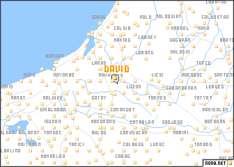 map of David