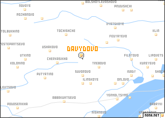 map of Davydovo