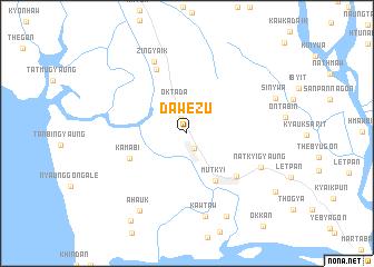 map of Dawezu