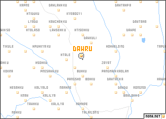 map of Dawru