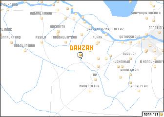 map of Dawzah