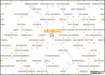 map of Daxberg