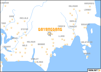 map of Dayangdang