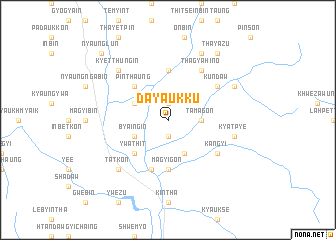 map of Dayaukku