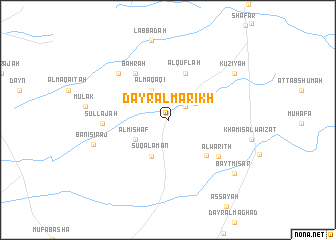 map of Dayr al Marikh