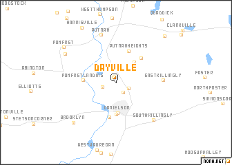map of Dayville