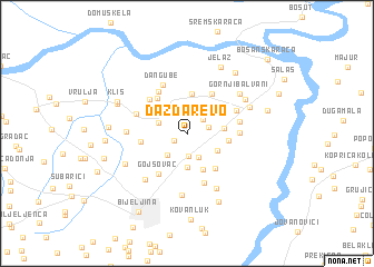 map of Dazdarevo