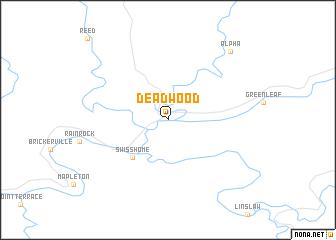 Deadwood (United States   USA) map   nona.net