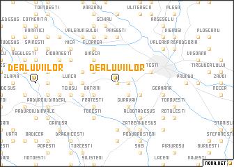 map of Dealu Viilor
