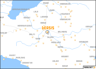 map of Deasis