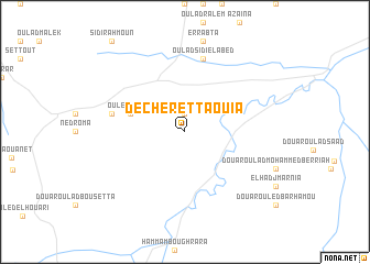 map of Decheret Taouia