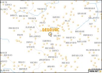 map of Ðedovac