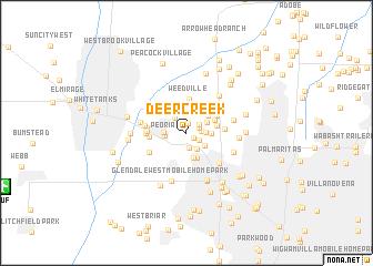 map of Deer Creek