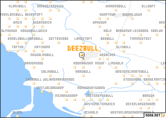 map of Deezbüll