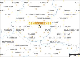 map of Dehar Khecheb