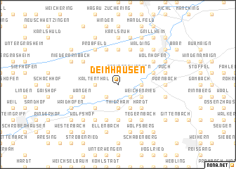 map of Deimhausen