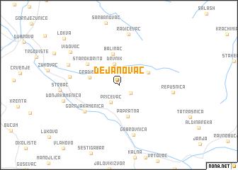 map of Dejanovac