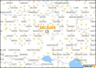 map of Delajus
