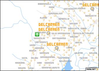 map of Del Carmen