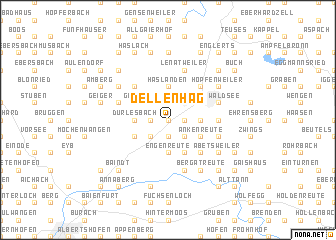 map of Dellenhag