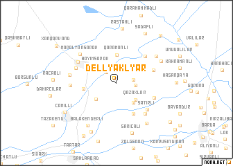 map of Dellyaklyar