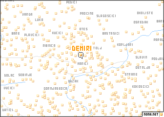 map of Demiri
