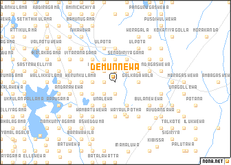 map of Demunnewa